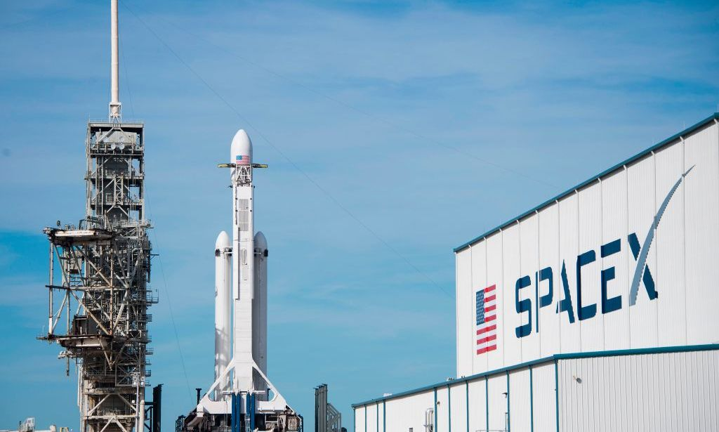 Foto: SpaceX Falcon Heavy – Credits: JIM WATSON/AFP/Getty Images
