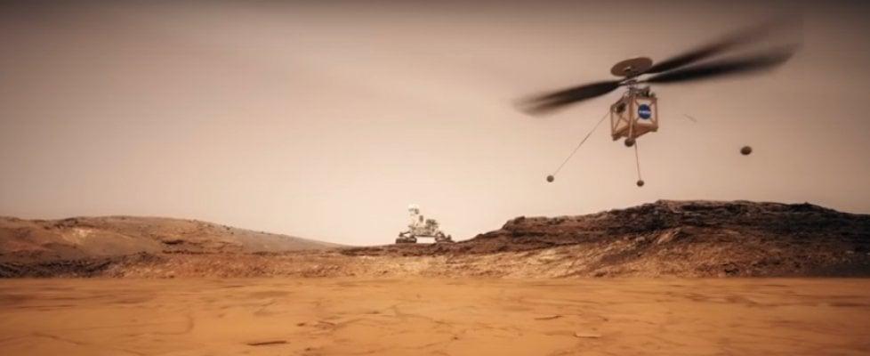 Il Mars Helicopter raggiungerà il pianeta rosso nel 2020 per guidare il rover nell'esplorazione. La prima sfida è il ritardo di comunicazione tra i pianeti