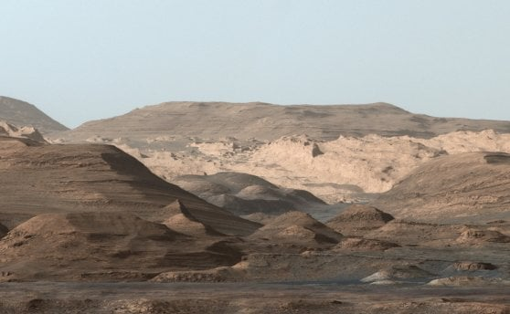 Mount Sharp (Curiosity/Nasa)